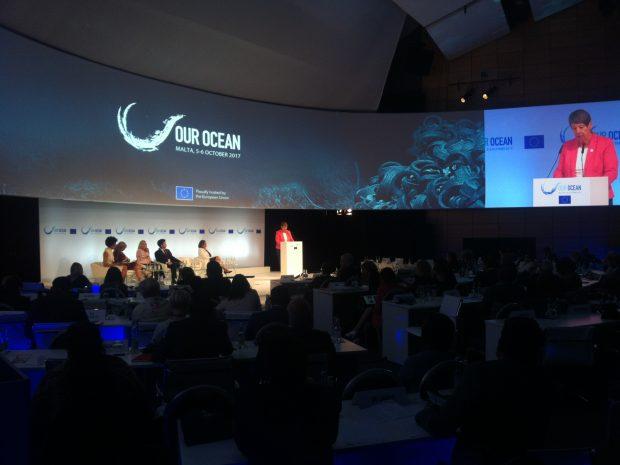 """Our Ocean"" conference in Malta. (c) IASS/ Sebastian Unger"